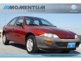1998 Cayenne Red Metallic Chevrolet Cavalier Sedan #64229077
