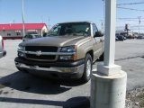 2005 Sandstone Metallic Chevrolet Silverado 1500 Regular Cab #6401196
