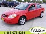 2007 Victory Red Chevrolet Cobalt LS Sedan #6414836