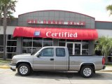 2007 Graystone Metallic Chevrolet Silverado 1500 Classic Work Truck Extended Cab #6405172