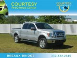2010 Ingot Silver Metallic Ford F150 Lariat SuperCrew 4x4 #64229027