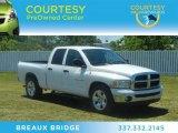 2005 Bright White Dodge Ram 1500 SLT Quad Cab #64229025