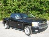 2007 Black Chevrolet Silverado 1500 LT Crew Cab 4x4 #64228997