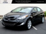 2013 Black Hyundai Elantra Limited #64228312