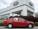 2012 Red Candy Metallic Ford Focus SE Sedan #64228290