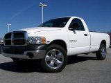 2003 Bright White Dodge Ram 1500 SLT Regular Cab 4x4 #6401227