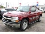 2004 Sport Red Metallic Chevrolet Tahoe LS 4x4 #64228943