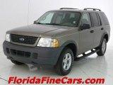 2003 Mineral Grey Metallic Ford Explorer XLS #6406553
