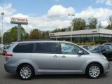 2012 Silver Sky Metallic Toyota Sienna XLE AWD #64228554