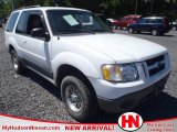 2001 Oxford White Ford Explorer Sport #64228096
