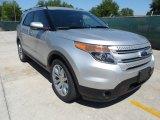 2013 Ingot Silver Metallic Ford Explorer Limited #64228535