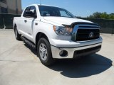 2012 Super White Toyota Tundra Texas Edition Double Cab 4x4 #64228531