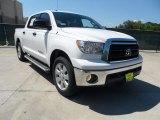 2012 Super White Toyota Tundra Texas Edition CrewMax #64228530