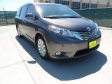 2012 Predawn Gray Mica Toyota Sienna Limited #64228524