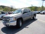 2012 Graystone Metallic Chevrolet Silverado 1500 LT Extended Cab 4x4 #64228853