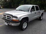 2003 Bright Silver Metallic Dodge Dakota SXT Quad Cab 4x4 #64228851