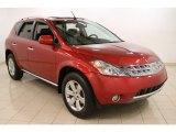 2006 Sunset Red Pearl Metallic Nissan Murano S AWD #64228835