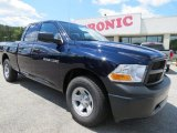2012 True Blue Pearl Dodge Ram 1500 Tradesman Quad Cab #64228485