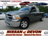 2012 Mineral Gray Metallic Dodge Ram 1500 SLT Quad Cab 4x4 #64289568
