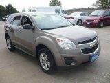 2010 Mocha Steel Metallic Chevrolet Equinox LS #64288903