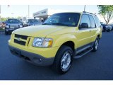 2003 Ford Explorer Zinc Yellow