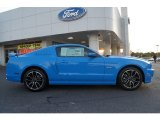 2013 Grabber Blue Ford Mustang GT Premium Coupe #64288897
