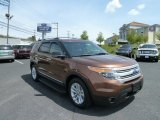 2011 Golden Bronze Metallic Ford Explorer XLT 4WD #64288881