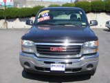 2005 Carbon Metallic GMC Sierra 1500 Regular Cab 4x4 #6406532