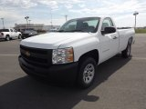 2012 Summit White Chevrolet Silverado 1500 Work Truck Regular Cab #64289111