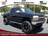 2000 Onyx Black Chevrolet Silverado 1500 LT Extended Cab 4x4 #64289420