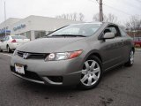 2006 Galaxy Gray Metallic Honda Civic LX Coupe #6400140