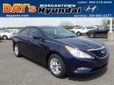 2013 Indigo Night Blue Hyundai Sonata GLS #64289383