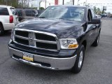 2012 Black Dodge Ram 1500 SLT Quad Cab 4x4 #64288685