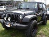 2011 Black Jeep Wrangler Sport 4x4 #64288684