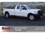 2012 Super White Toyota Tundra Double Cab 4x4 #64288668