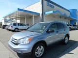 2010 Glacier Blue Metallic Honda CR-V EX AWD #64289300