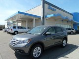 2012 Polished Metal Metallic Honda CR-V EX 4WD #64289290