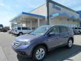 2012 Twilight Blue Metallic Honda CR-V EX-L 4WD #64289288