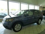 2012 Twilight Blue Metallic Honda CR-V EX-L #64289286