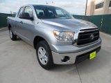 2010 Silver Sky Metallic Toyota Tundra Double Cab #64288983