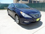 2013 Indigo Night Blue Hyundai Sonata Limited 2.0T #64288972
