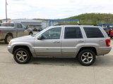 2002 Silverstone Metallic Jeep Grand Cherokee Overland 4x4 #64288952