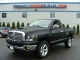 2008 Brilliant Black Crystal Pearl Dodge Ram 1500 SLT Regular Cab 4x4 #64353429
