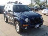 2002 Patriot Blue Pearlcoat Jeep Liberty Limited 4x4 #6416964