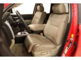 2010 Toyota Tundra Limited Double Cab 4x4 Sand Beige Interior