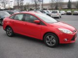2012 Race Red Ford Focus SE Sport Sedan #64353120