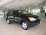 2009 Crystal Black Pearl Honda CR-V LX 4WD #64353400