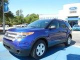 2013 Deep Impact Blue Metallic Ford Explorer FWD #64352764
