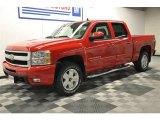 2009 Victory Red Chevrolet Silverado 1500 LTZ Crew Cab 4x4 #64353311