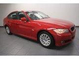 2009 Crimson Red BMW 3 Series 328i Sedan #64353065
